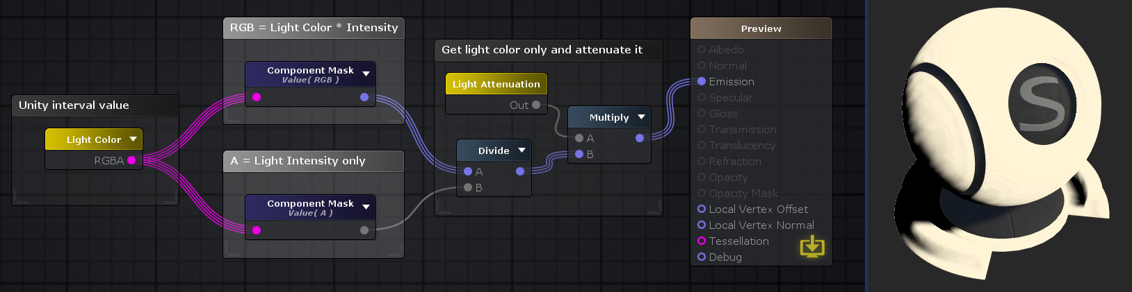 Unity Products:Amplify Shader Editor/Component Mask