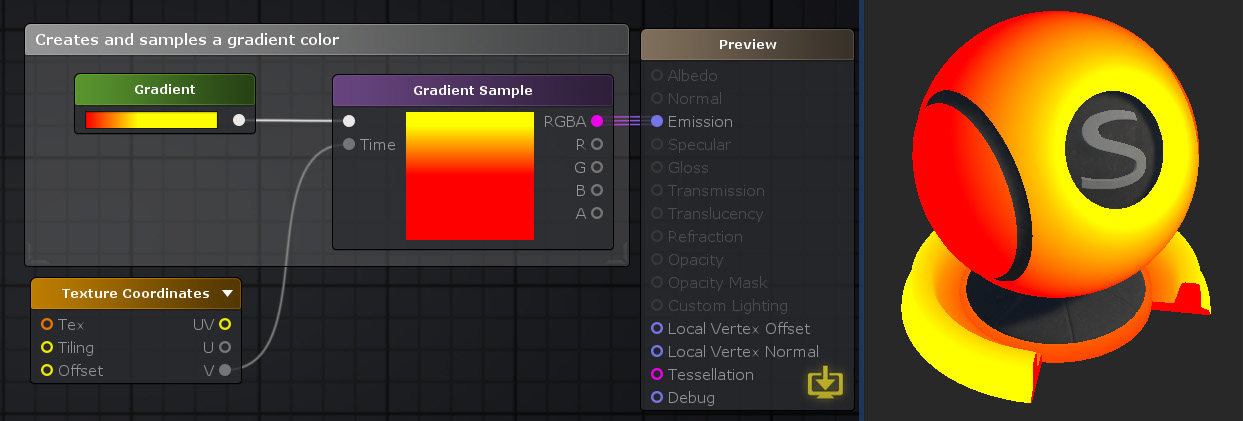 Unity Products:Amplify Shader Editor/Gradient Sample