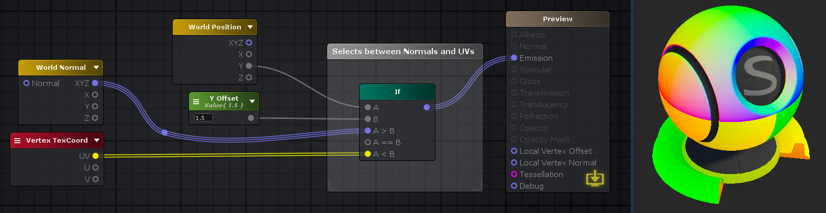 Unity Products:Amplify Shader Editor/If - Amplify Creations Wiki