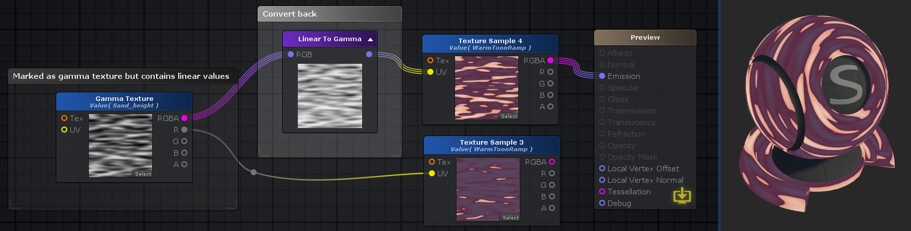 Unity Products:Amplify Shader Editor/Linear To Gamma - Amplify