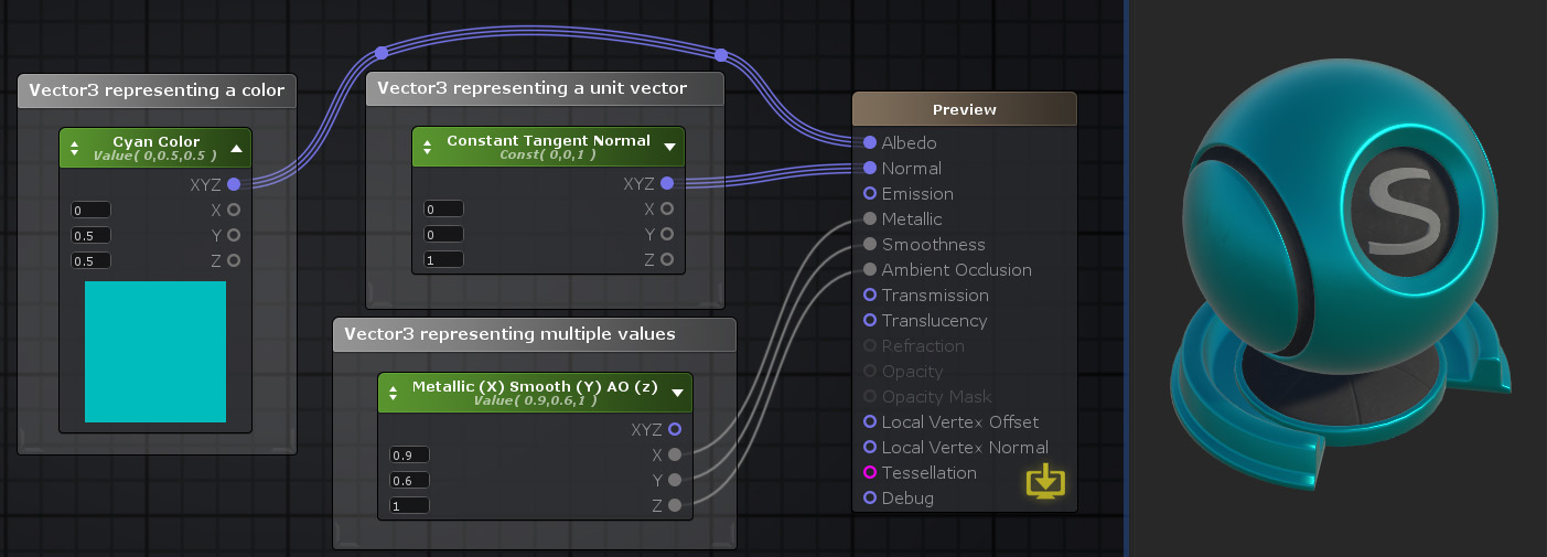 Unity Products:Amplify Shader Editor/Vector3 - Amplify Creations Wiki