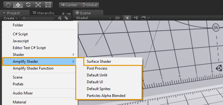 Unity Products:Amplify Shader Editor/Templates - Amplify