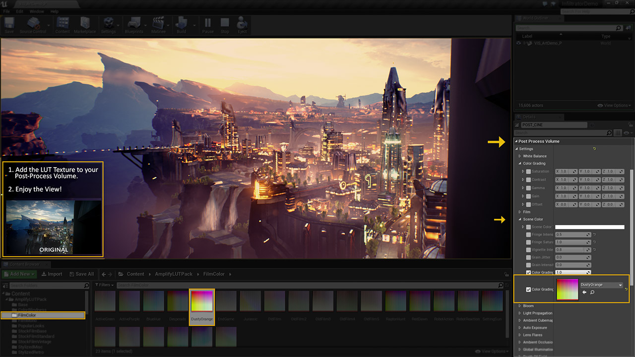 Unity Products:Amplify LUT Pack Unreal/Manual - Amplify Creations Wiki