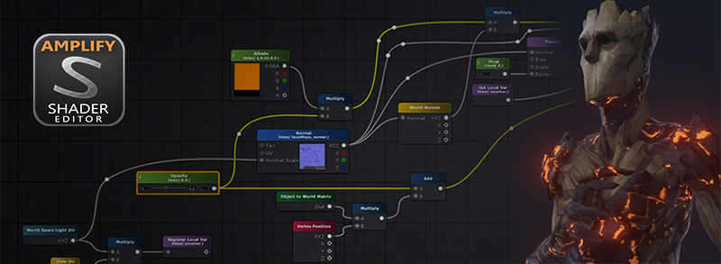 RELEASED] Amplify Shader Editor - Node-based Shader Creation Tool