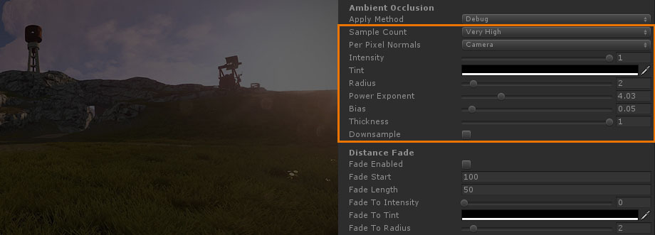 Unity Products:Amplify Occlusion/Manual - Amplify Creations Wiki